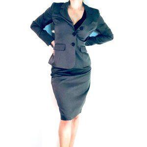 Le Suit Grey Women's Business Suit